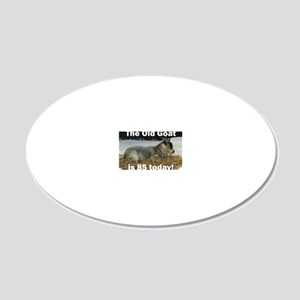 goat85ys 20x12 Oval Wall Decal