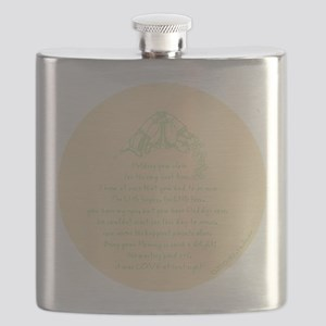 Love at First Sight Ornament-Yellow Flask