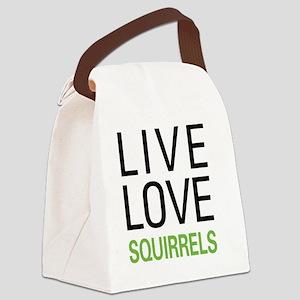 livesquirrel Canvas Lunch Bag