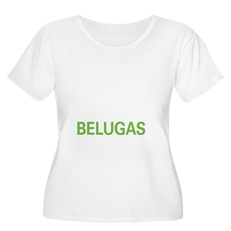 livebeluga2 Women's Plus Size Scoop Neck T-Shirt