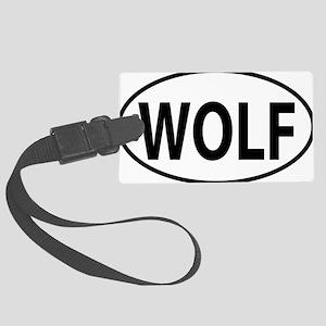 WOLF Large Luggage Tag