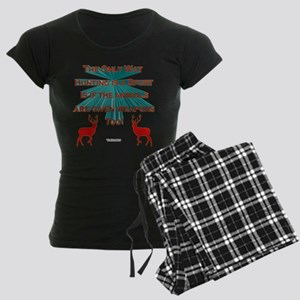 Anti-Hunting Women's Dark Pajamas