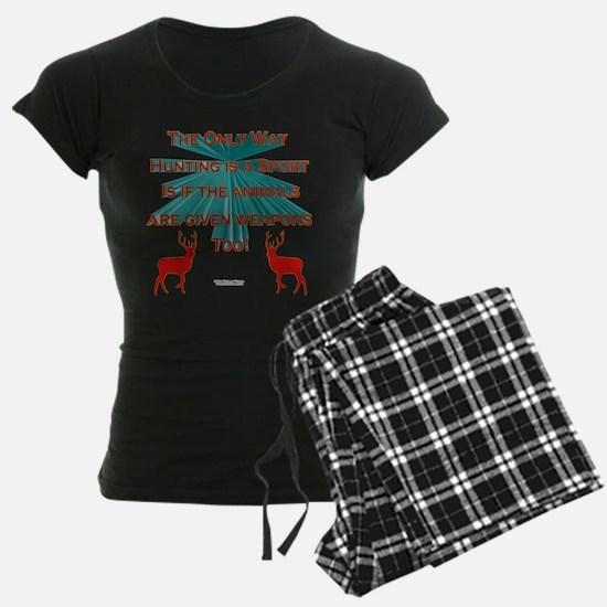 Anti-Hunting Pajamas