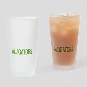 livealligator2 Drinking Glass