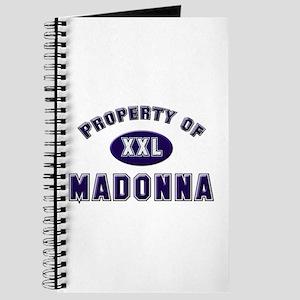 Property of madonna Journal