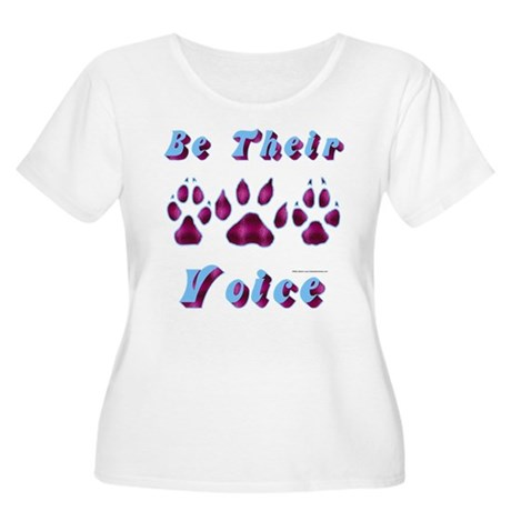 Be Their Voice Plus Size T-Shirt