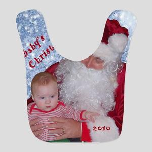 Babys first christmas 2010 Bib