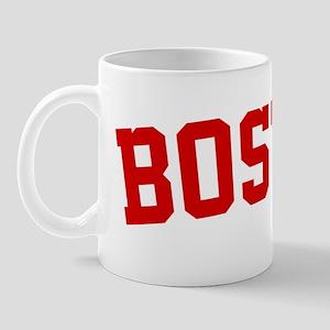 Boston BB Red Mug