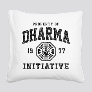 Dharma77 Square Canvas Pillow
