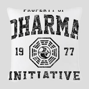 Dharma77 Woven Throw Pillow