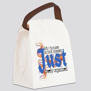 Just house messy Canvas Lunch Bag