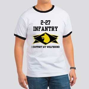 2-27 Infantry Wolfhounds Ringer T