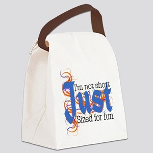 Just Fun Sized Canvas Lunch Bag