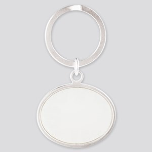 love is blindlight Oval Keychain