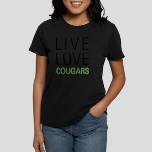 livecougar Women's Dark T-Shirt