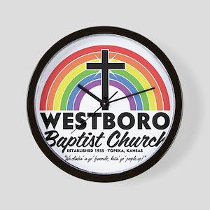 Westboro Baptist Light Wall Clock