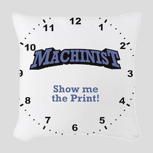 Machinist_Print_RK2010_WallClo Woven Throw Pillow