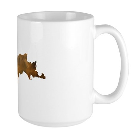 Porcupine_Mts_Sunset_001 Large Mug