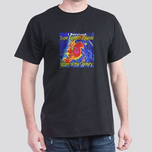 I Survived Super Typhoon Yolanda Dark T-Shirt