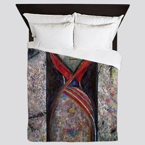 Nefertiti Mummy Queen Duvet
