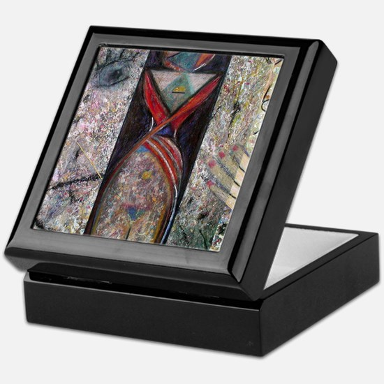 Nefertiti Mummy Keepsake Box