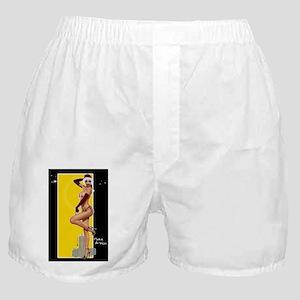 Poster Mini ClarissaB Pinup Girl Make Boxer Shorts