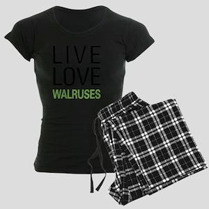 livewalrus Women's Dark Pajamas