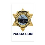PCOOA.com Member Sticker