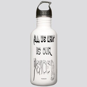 Wolf Peace Stainless Water Bottle 1.0L