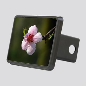 Cherry Blossom Photograph Rectangular Hitch Cover
