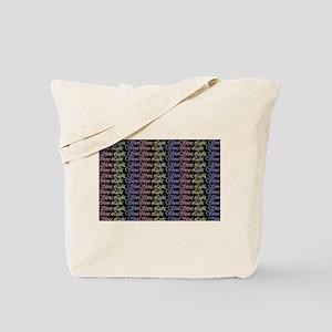Shine Light Shine Tote Bag