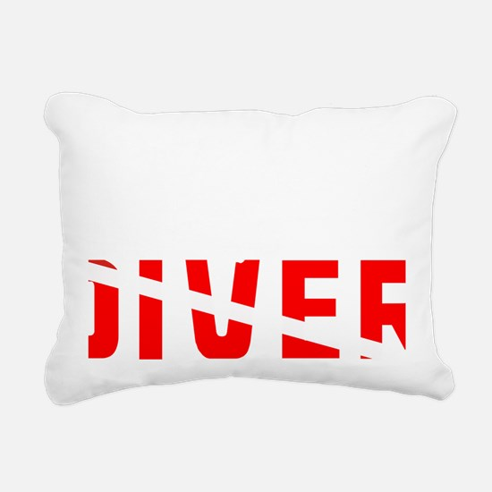 diver.2 Rectangular Canvas Pillow