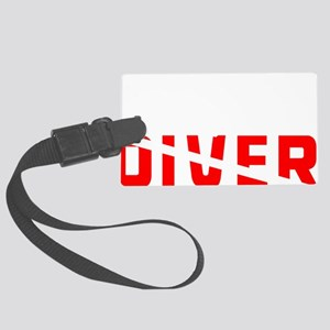 diver.2 Large Luggage Tag