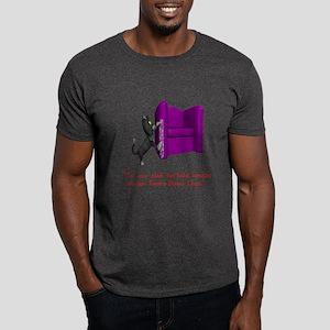 Cat Lovers Humor Dark T-Shirt