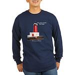 Menominee North Pier Light Long Sleeve T-Shirt