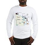 Northeast Lower Michigan Long Sleeve T-Shirt
