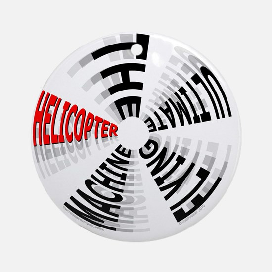 Heli Ultimate_10x10in_200dpi_11_1 Round Ornament