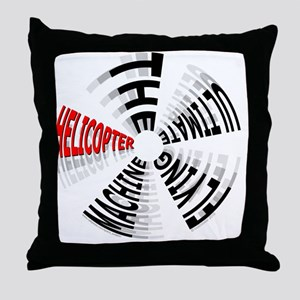 Heli Ultimate_10x10in_200dpi_11_1 Throw Pillow