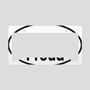 KENTUCKY PROUD oval License Plate Holder