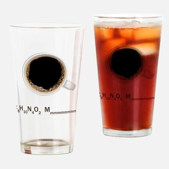 Coffee-Lt-C8H10 Drinking Glass
