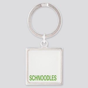 liveschnoodle2 Square Keychain
