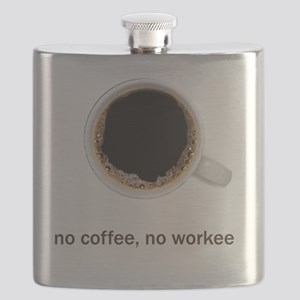 Coffee-Lt-NoCoffeeNoWorkee Flask
