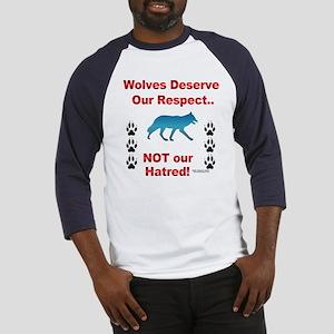 Respect Wolves Baseball Jersey