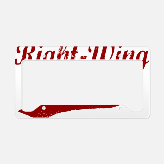 Right-Wing-Extremist-(cursive License Plate Holder