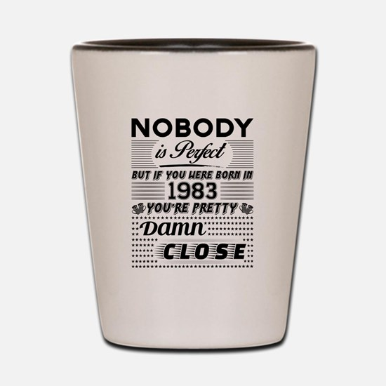 Unique Made in 1983 Shot Glass