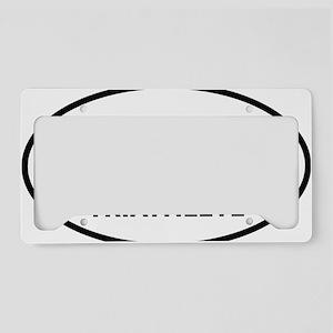 iTRI TRIATHLETE oval License Plate Holder