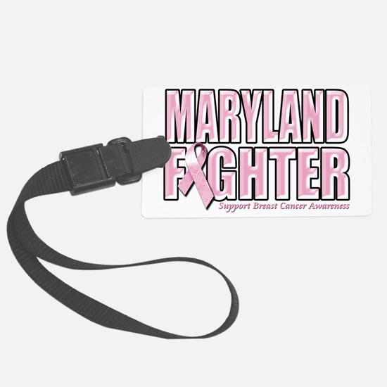 Maryland Breast Cancer Fighter Luggage Tag