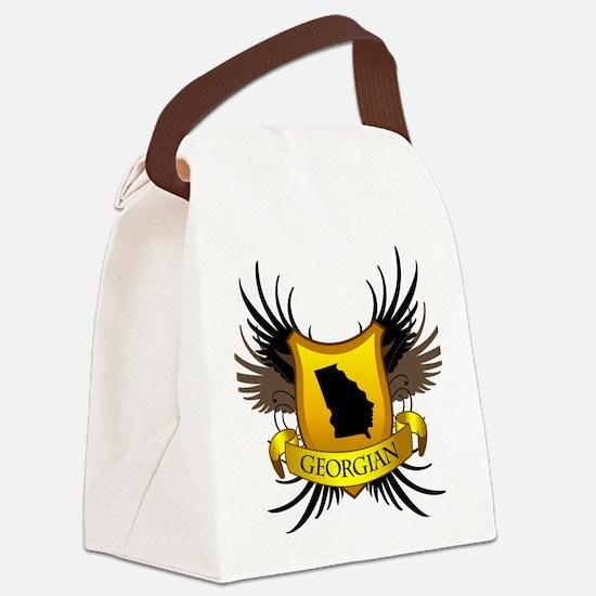 Georgian Canvas Lunch Bag