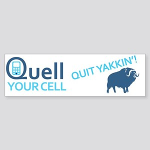 quell cell  Sticker (Bumper)