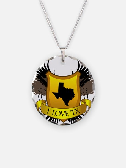 I-love-Texas Necklace